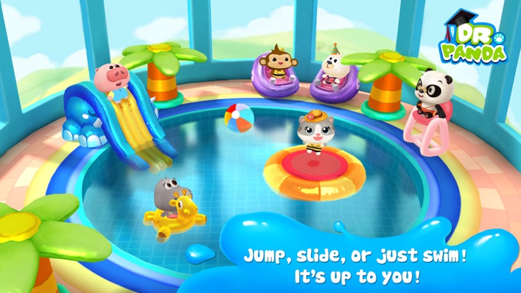 Dr. Panda Swimming Pool screenshot-3