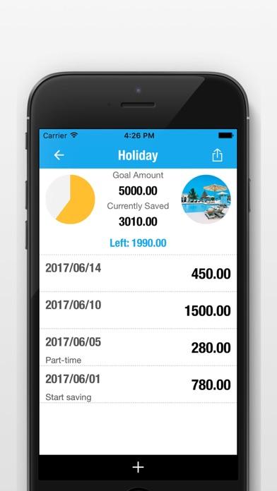 貯金箱Saving Money - 毎日の貯蓄目標トラッカー ScreenShot1