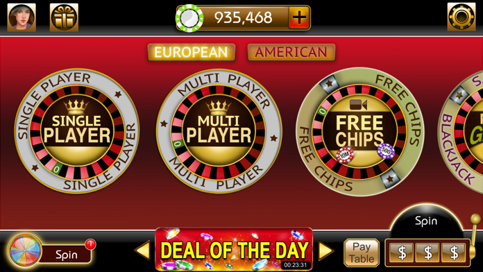 Roulette 3D Casino Style Screenshot