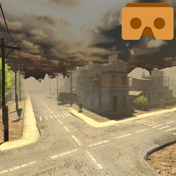 VR Ghost Town 3D