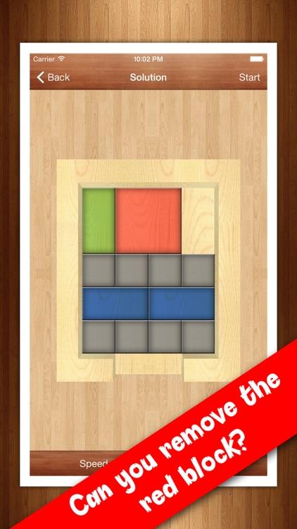 Red Block - Slide block puzzle