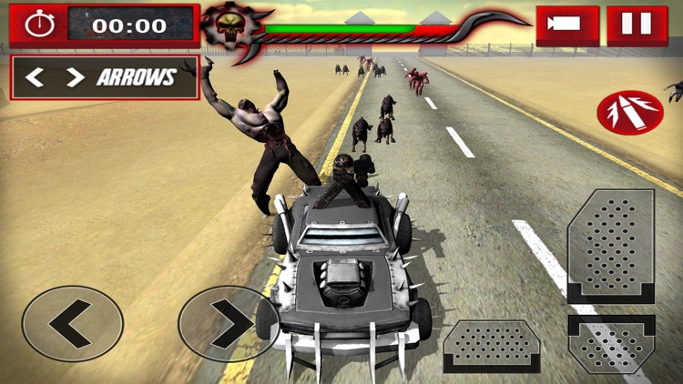 Zombie Smasher: Drive Shoot and Kill in Apocalypse screenshot-3