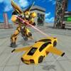 未来 飛行 スーパー 車 : ロボット ファイター スタント ZD