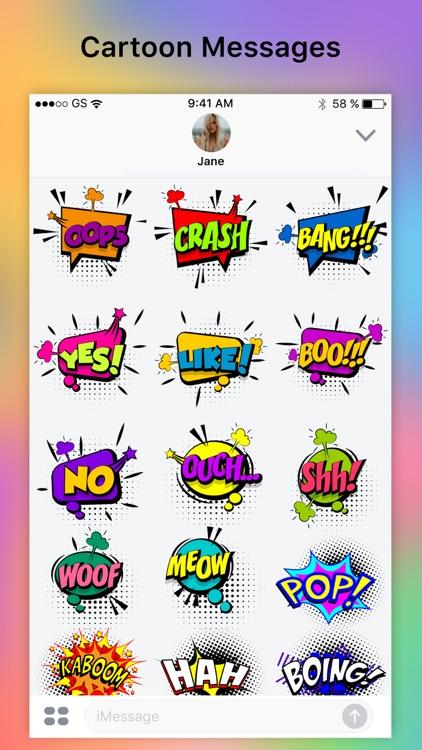 BOOM - Funny Comic Stickers screenshot-4