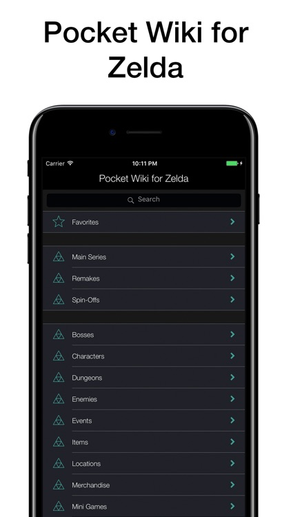 Pocket Wiki for Zelda