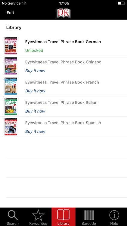 DK Travel Phrase Book Audio screenshot-4