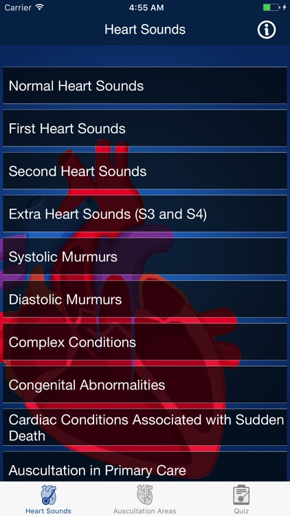 Heart Sounds Auscultation & Quiz screenshot-0