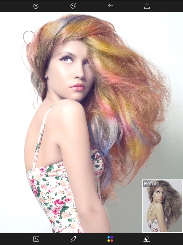 Hair Color Changer Styles Salon Recolor Booth On The App Store - Hairstyle change app download
