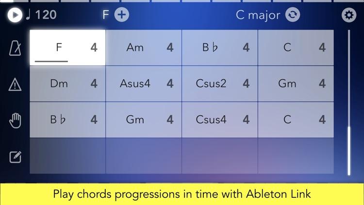 Navichord • chord sequencer and MIDI controller screenshot-3