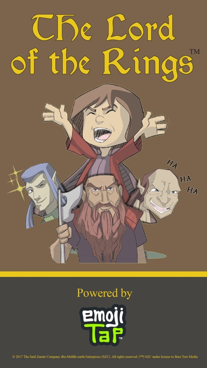 The Lord of the Rings - Illustrated Stickers screenshot-4