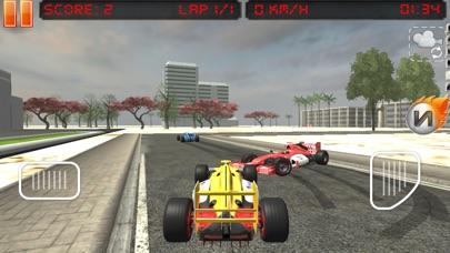 Snow Hill Auto Racing Car Game Screenshot on iOS
