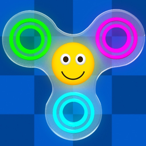 Fidget Spinner Wheel Toy - Stress Relief Emojis
