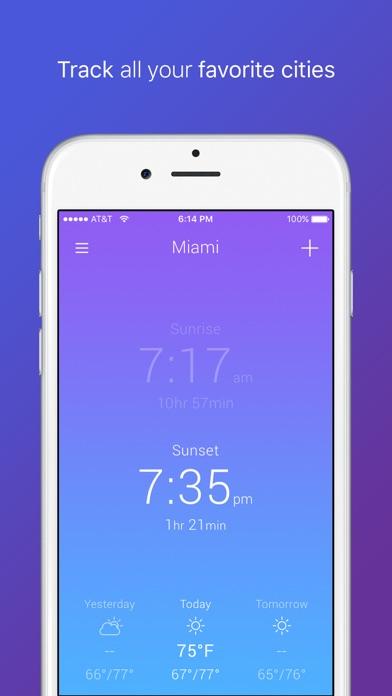 Terra Sol - Sunrise & Sunset app