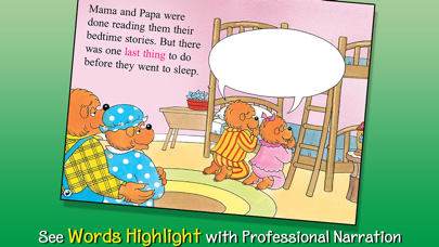 The Berenstain Bears Say Their Prayers review screenshots