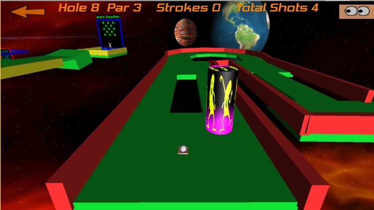 Crazy Golf In Space