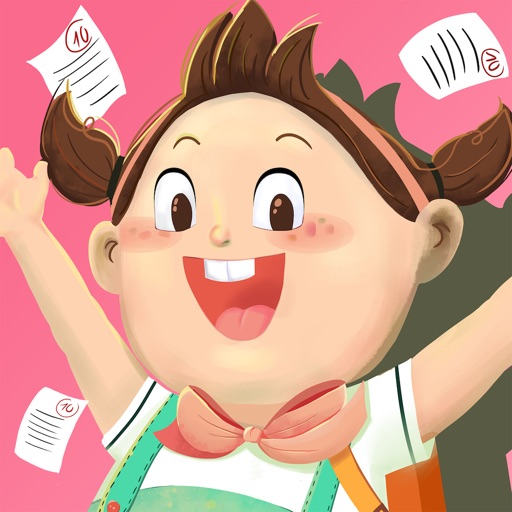 Nana Back To School - Lovely game for your kids. iOS App