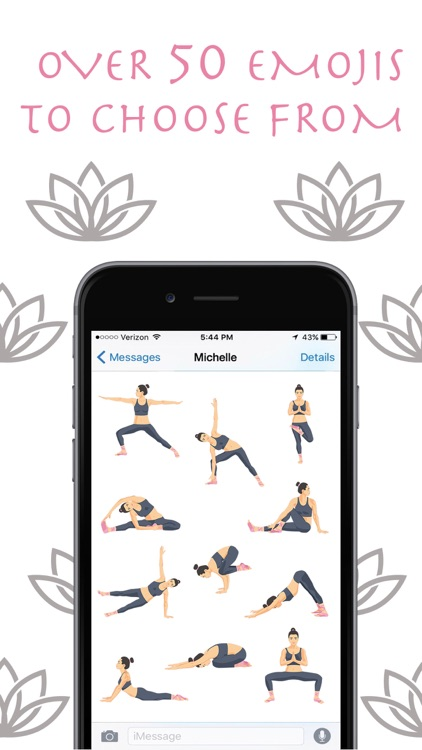 Zen Mojis - Yoga Emoji Keyboard and Stickers