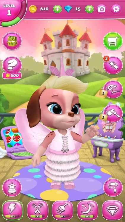 Masha the Dog - My Virtual Pet