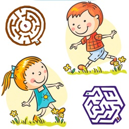 Mazes for Kids - 3D Classic Labyrinth Games