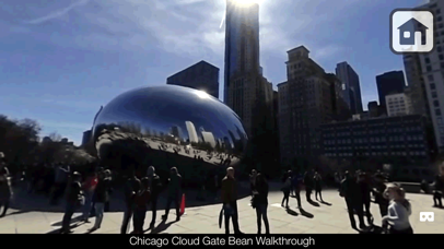Chicago in 3D Virtual Reality Screenshots