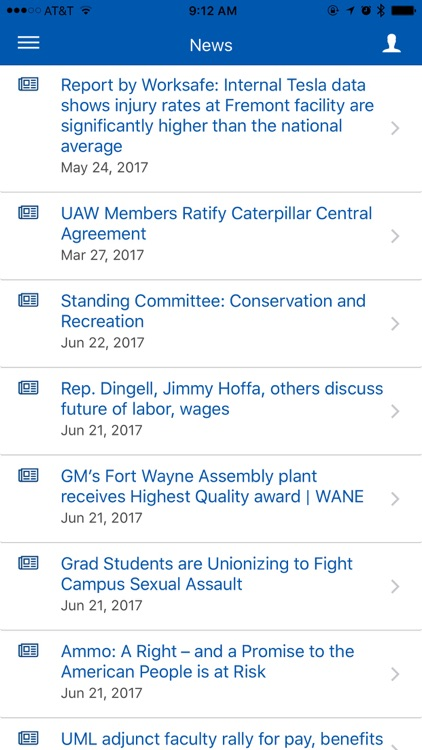 UAW App screenshot-1