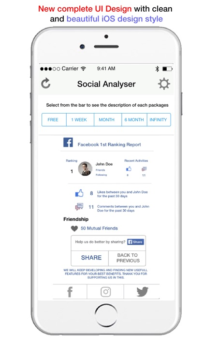 Social Analyser screenshot-3
