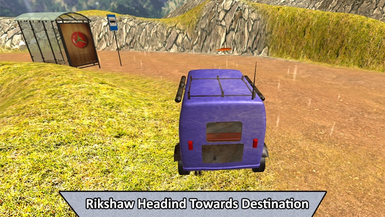 Real Off-Road Rickshaw Transport screenshot-2