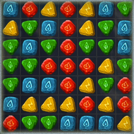 Gems Match 3  Puzzle Simple Game
