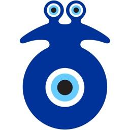 Evil Eye Stickers, Nazar Protection, Set 1