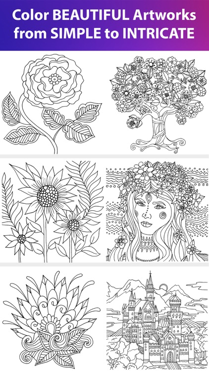 Color Matters - Adult Coloring Book & Therapy screenshot-3