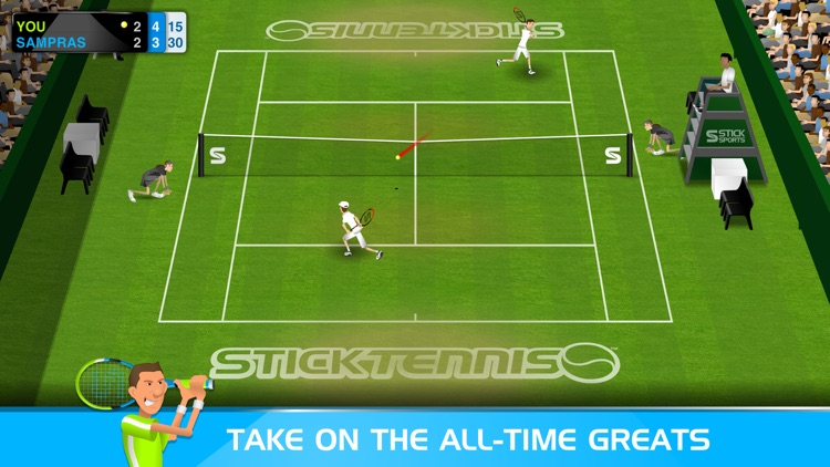 Stick Tennis screenshot-2