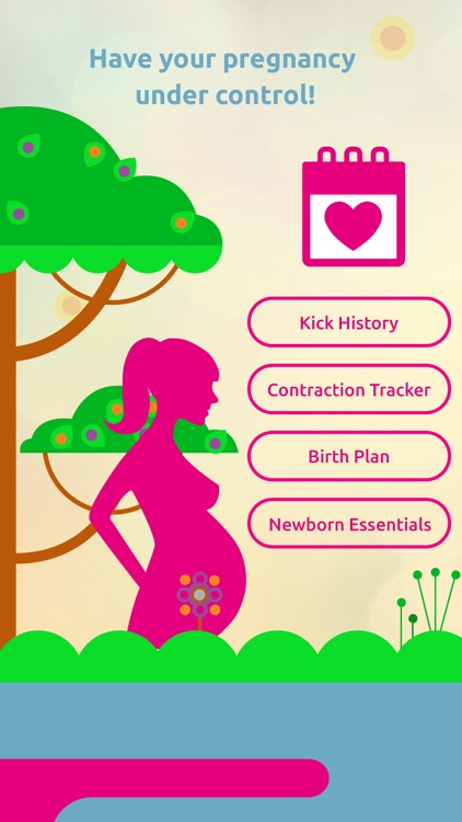 Pregnancy Tracker: Contraction Timer, Kick Counter