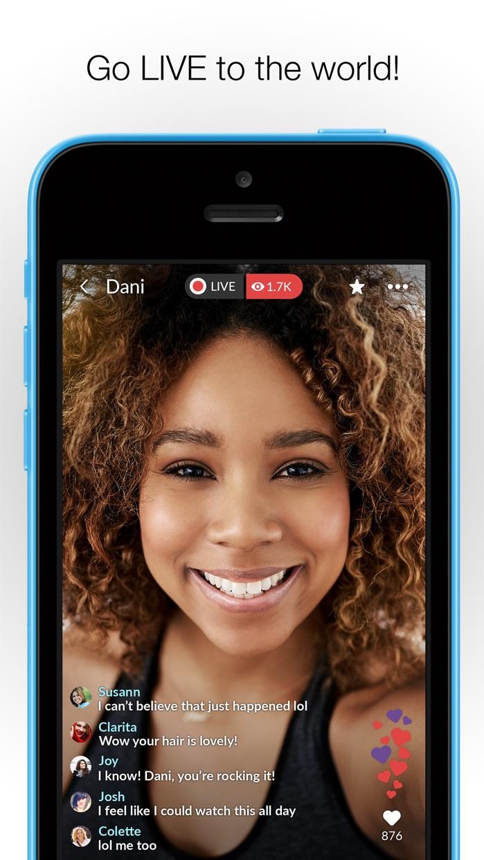 MeetMe - Go Live, Chat & Meet Screenshot