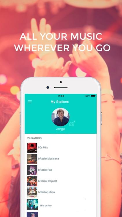 bRadio Music by Batanga screenshot-3