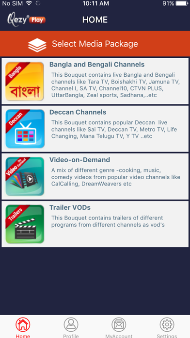 Qezy®Play screenshot 1