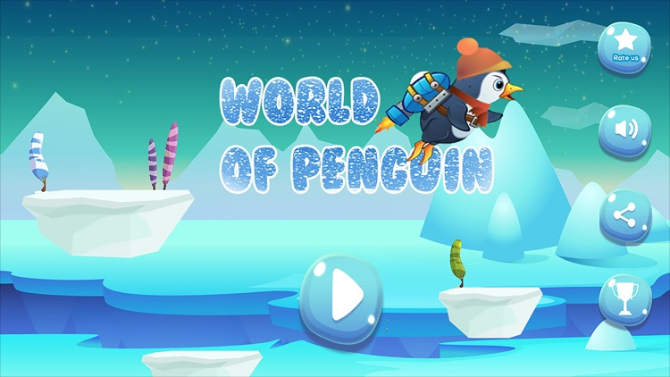 The World of Penguins Adventure Game by Mohamed Benyounesse
