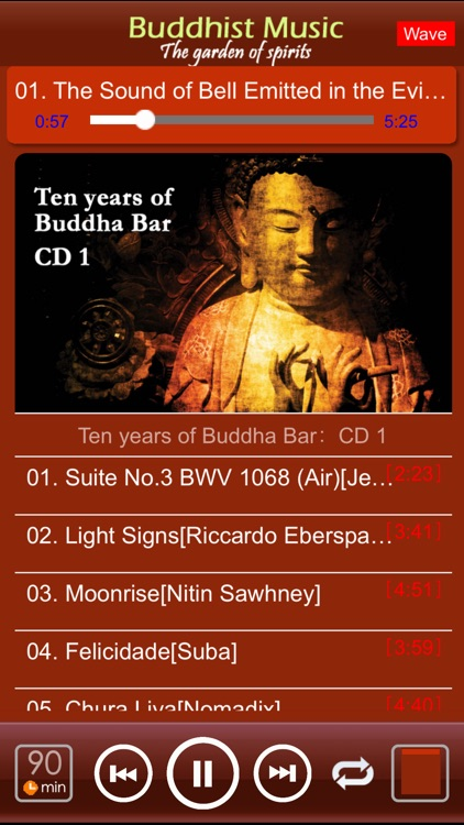 [7 CD]Buddha Music for Relaxation screenshot-1