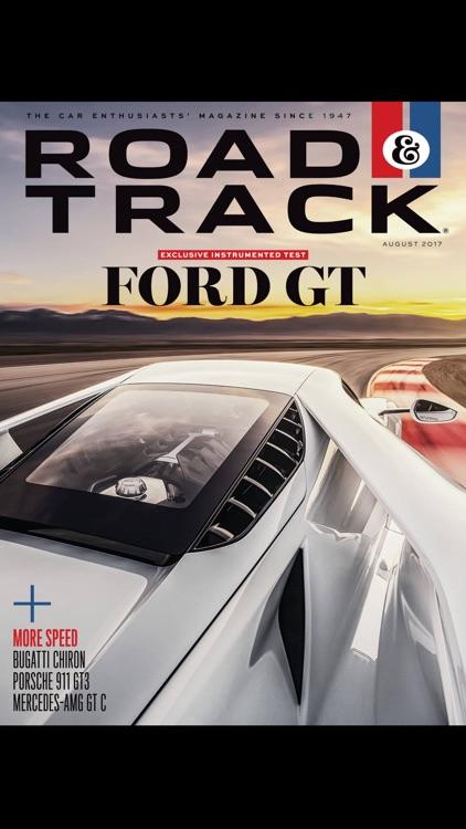 Road & Track Magazine US