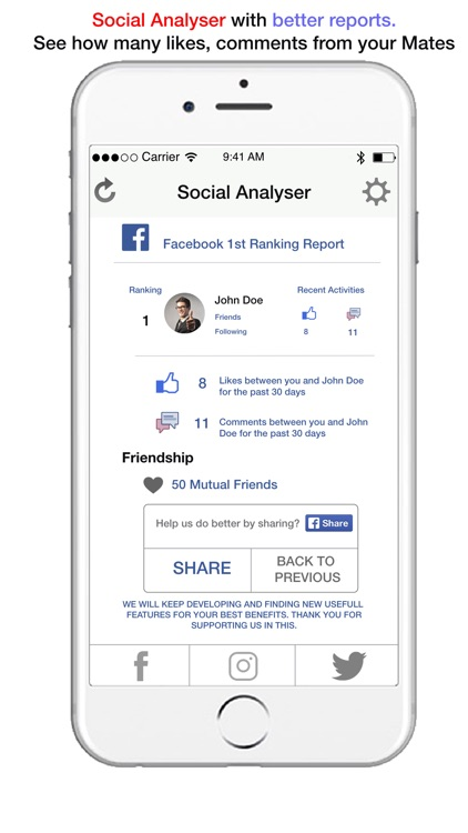 Social Analyser screenshot-2