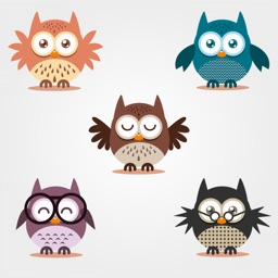 Owls Stickers for iMessage