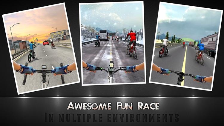 Bicycle Racing Game 2017 & Quad Stunts screenshot-4