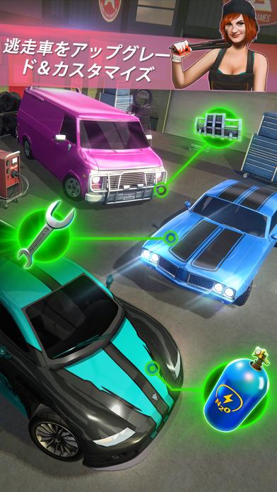 Highway Getaway: Chase TV - 警察追跡レーシングゲームのおすすめ画像2