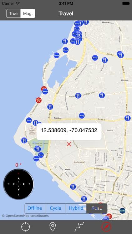 ARUBA – GPS Travel Map Offline Navigator screenshot-3