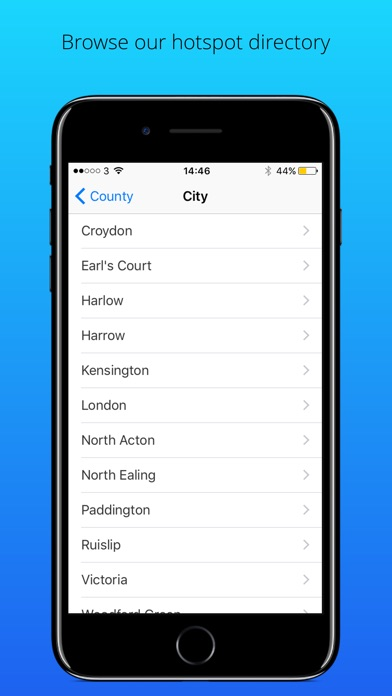VM WIFI HOTSPOT Screenshot on iOS