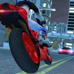 Motorcycle Driving : Traffic City Rider Simulator