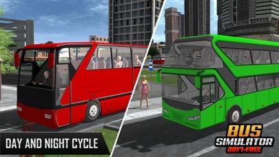 バスシミュレーター2017 - 市のバスバス運転のバスのスクリーンショット2