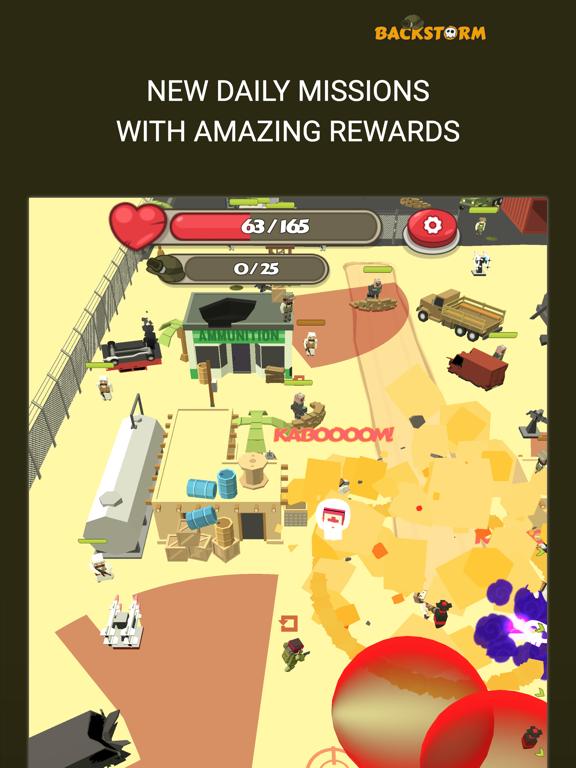 Backstorm Attack - Endless RPG War Runner screenshot 6