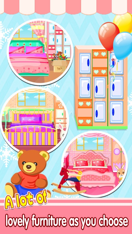 Real Princess Doll House Decoration game™