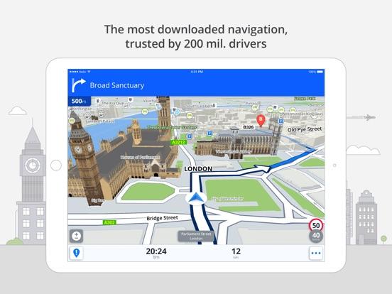 Screenshot #1 for Sygic North America: GPS Navigation, Offline Maps