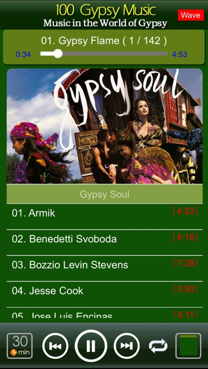 [10 CD]100 classic gypsy music screenshot-1